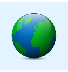 Earth Icon vector image
