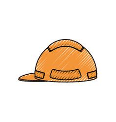 helmet vector image