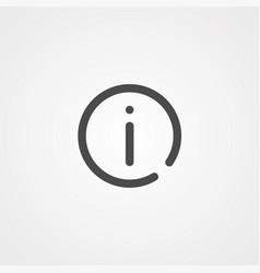 information icon sign symbol vector image