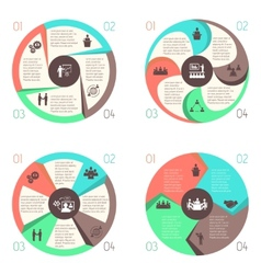 Meet people online infographic pictograms set vector image