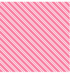 Pink background with white stripsscrapbook paper vector