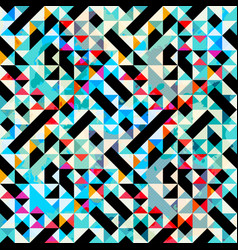 Polygons bright psychedelic abstract geometric vector
