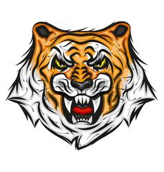 tiger print vector image