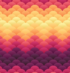 Tropical sunset warm blobs seamless backgro vector