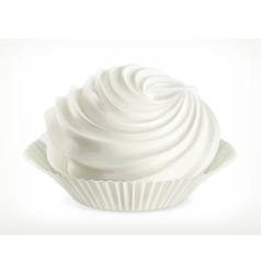 Meringue icon vector image