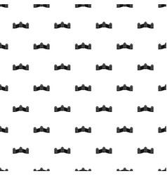 great wall of china pattern vector image vector image