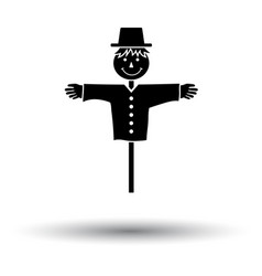 scarecrow icon vector image vector image