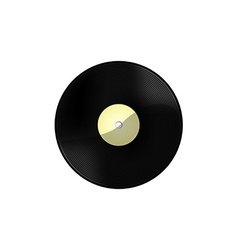 Vinyl white vector image