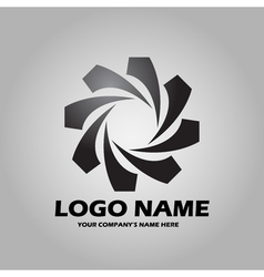 Logo black vector