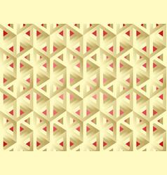 escher style isomeric figures vector image