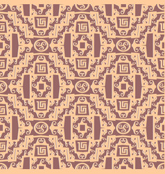 greek seamless pattern ancient geometri vector image