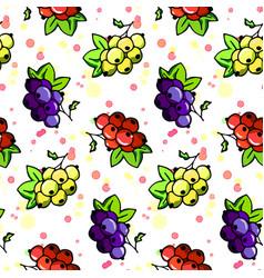 natural organic seamless pattern vector image