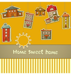 Set of Houses vector image