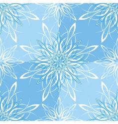snowflake wallpaper vector image