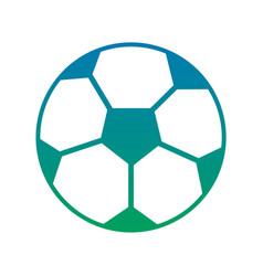 Soccer ball sphere object equipment vector