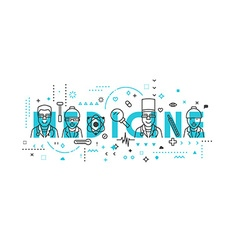 Medicine concept design vector image