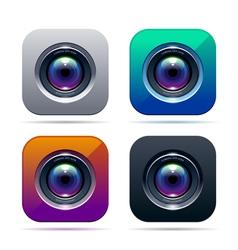 Photo app icon vector