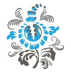 3764 ukr ornament vector image