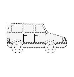 Car vehicle symbol vector