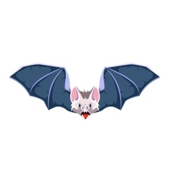 cartoon bat vector image