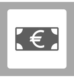 Euro Banknote icon vector