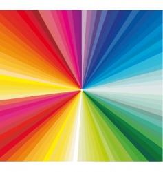spectrum vector image