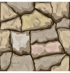 stone seamless pattern vector image