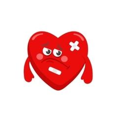 Poor heart vector