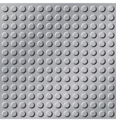 gray metal background vector image vector image