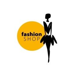 logo girls vector image vector image