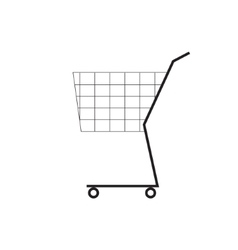 Shooping cart symbol Icon vector image