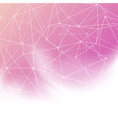 Abstract bright background with transparent net vector image