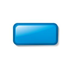 blue sticker on white background vector image