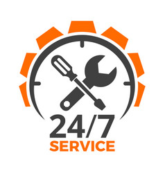 Car service logo vector