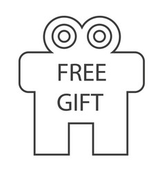 free gift vector image