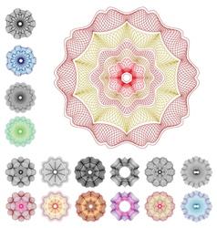 Guilloche Rose v2 vector