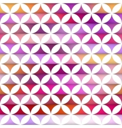 Seamless Colorful Stripes Gradient Stars vector image vector image