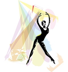 Ballet Dancer vector image vector image