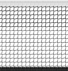 seamless tennis net vector image vector image