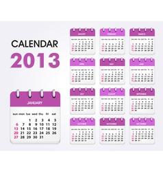Calendar 2013 new vector