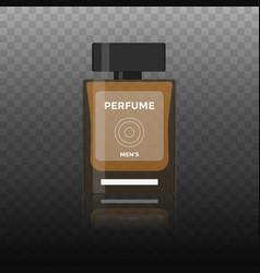 flat icon of men perfume vector image