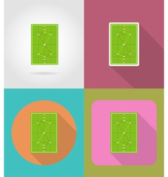 sport flat icons 49 vector image