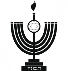 symbol of hanukkah vector image