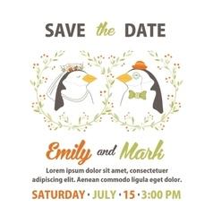 Wedding invitation vector