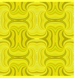 yellow seamless psychedelic abstract spiral burst vector image