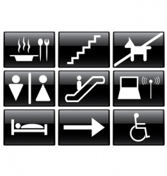 service signs vector image