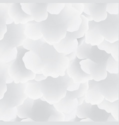 Abstract white cloud sky seamless pattern flow vector