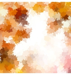 Colorful background of autumn leaves EPS 10 vector