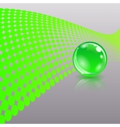 Concept with ball vector image