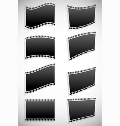 film strip graphics for photography concepts vector image